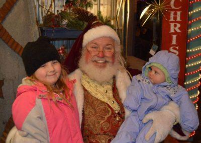 Santa Dan With The Kiddos