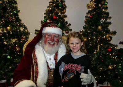 Santa Dan In Somerset Wisconsin