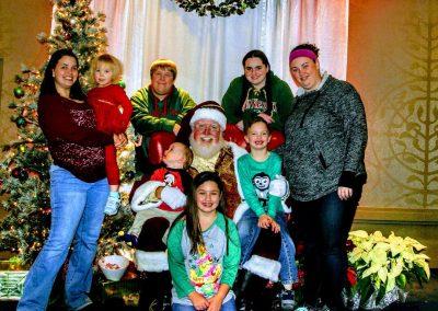 Santa Dan Group Photo At Event