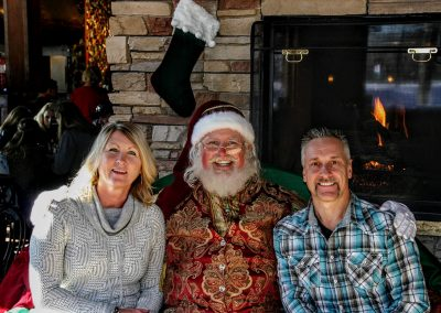 Santa Dan With Mother & Father