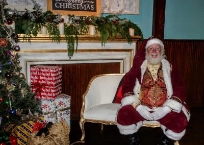 Santa Dan Wishing You A Merry Christmas